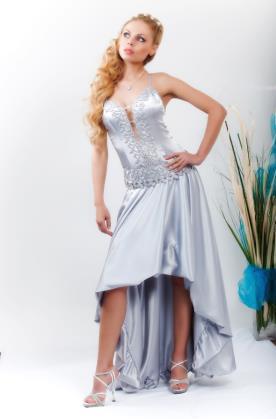 שמלת כלה חצי מקסי חצי מידי