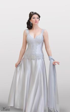 שמלת כלה מחוך עם אבנים