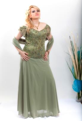 שמלת ערב מחוך פייטים