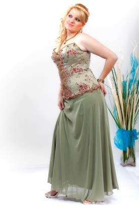 שמלת ערב מחוך פרחוני