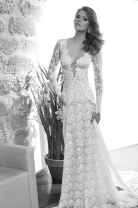 שמלת כלה תחרה מיוחדת