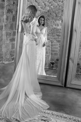 שמלת כלה אלגנטית של עמנואל