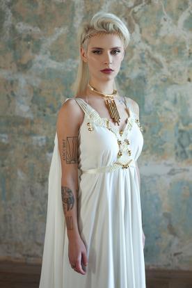 שמלת כלה בסגנון רומי