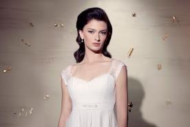 שמלת כלה מחוך וכתפיות עבות