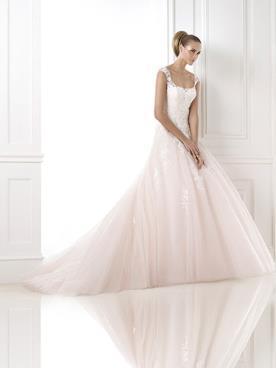 שמלת כלה אלגנטית למראה נסיכתי