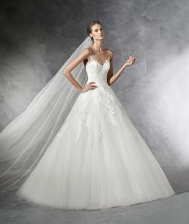 שמלת כלה נסיכתית רומנטית לכלה