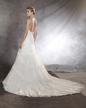 שמלת כלה מחשוף גב מיוחד