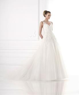 שמלת כלה אצילית למראה קלאסי