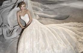 שמלת כלה מחוך סטרפלס בצורת לב