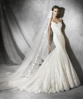 שמלת כלה מחמיאה למראה קלאסי