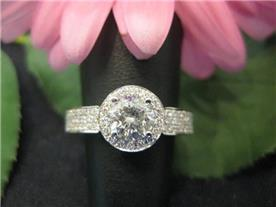 טבעת יוקרתית משובצת יהלומים 7