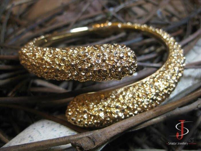 צמיד זהב צהוב