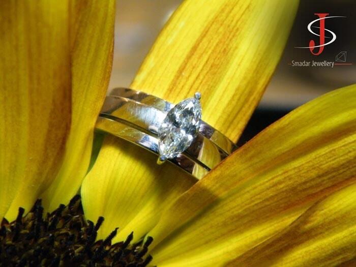 טבעת מרקיזה טריו