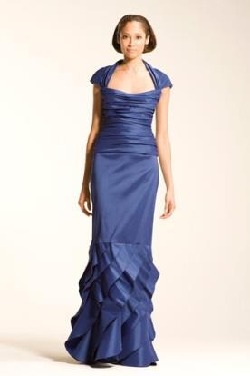 שמלת ערב אלגנטית בגזרת בת ים