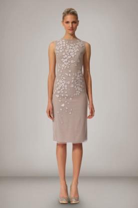 שמלת ערב מיני אלגנטית עם עיטורים