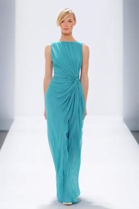 שמלת כלה אלגנטית עם קשירה