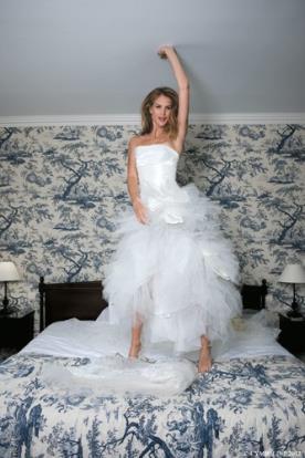 שמלת כלה קלאסית ללוק נסיכתי