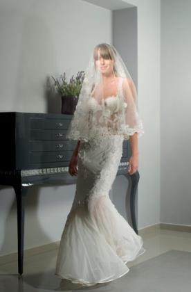 שמלת בת ים לכלה הרומנטית