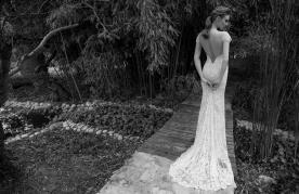שמלת כלה מלכותית עם גב פתוח