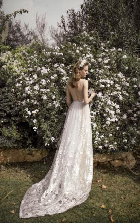שמלת כלה יפייפיה למראה נסיכותי