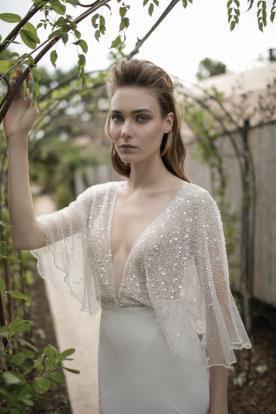 שמלת כלה חושנית למראה זוהר