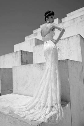 שמלת כלה רומנטית בגזרה מחמיאה