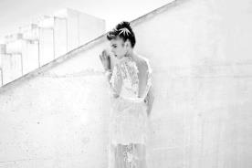 שמלת כלה פרחונית אביבית