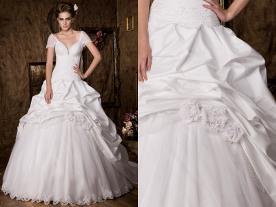 שמלת ערב רומנטית נפוחה
