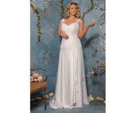 שמלת כלה חצאית עם וולאן