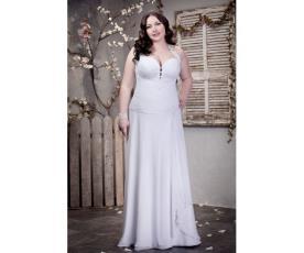 שמלת כלה מידות גדולות נשפכת