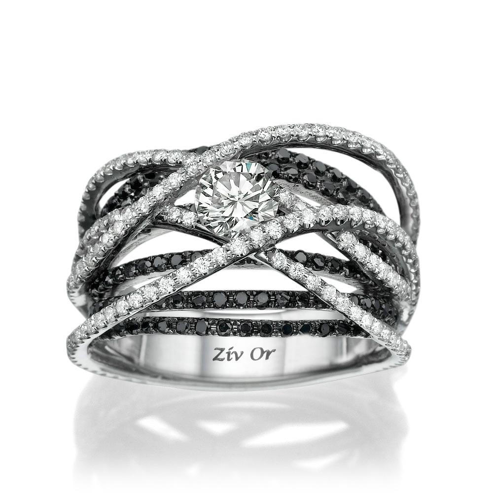 טבעת אירוסין בעיצוב מיוחד