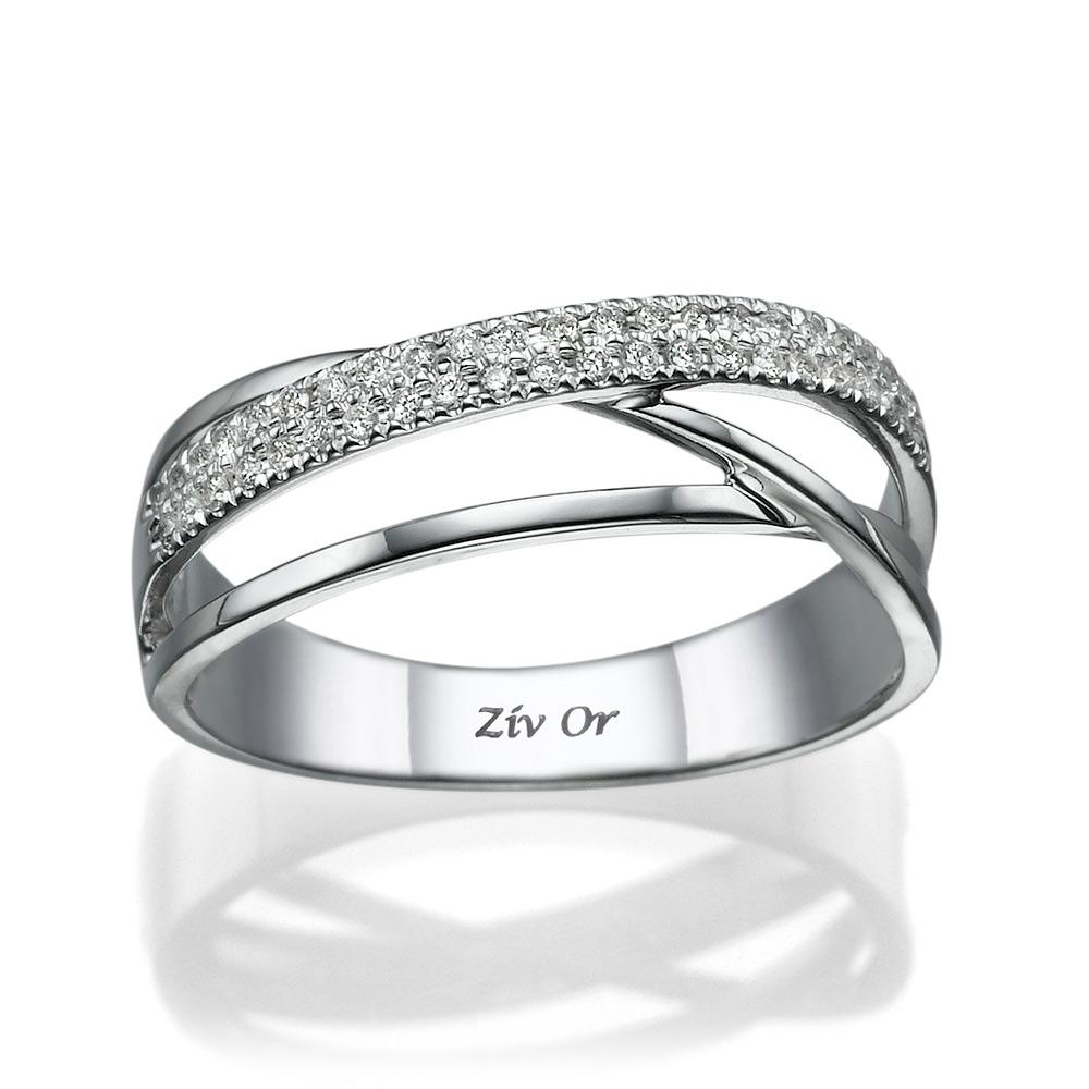 טבעת בעיצוב אסימטרי קלאסי