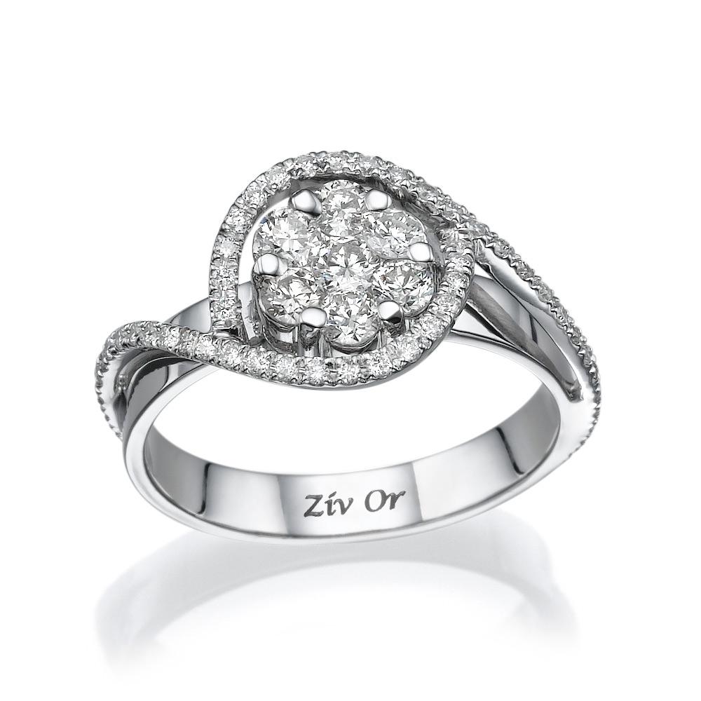 טבעת ייחודית בעיצוב עדין