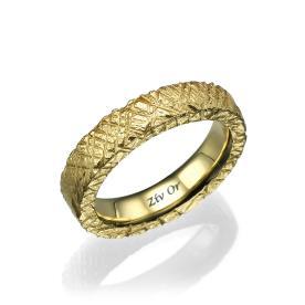 טבעת נישואין עבה מיוחדת