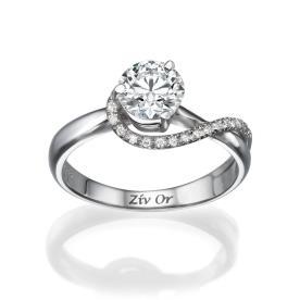 טבעת מיוחדת בעיצוב אלגנטי