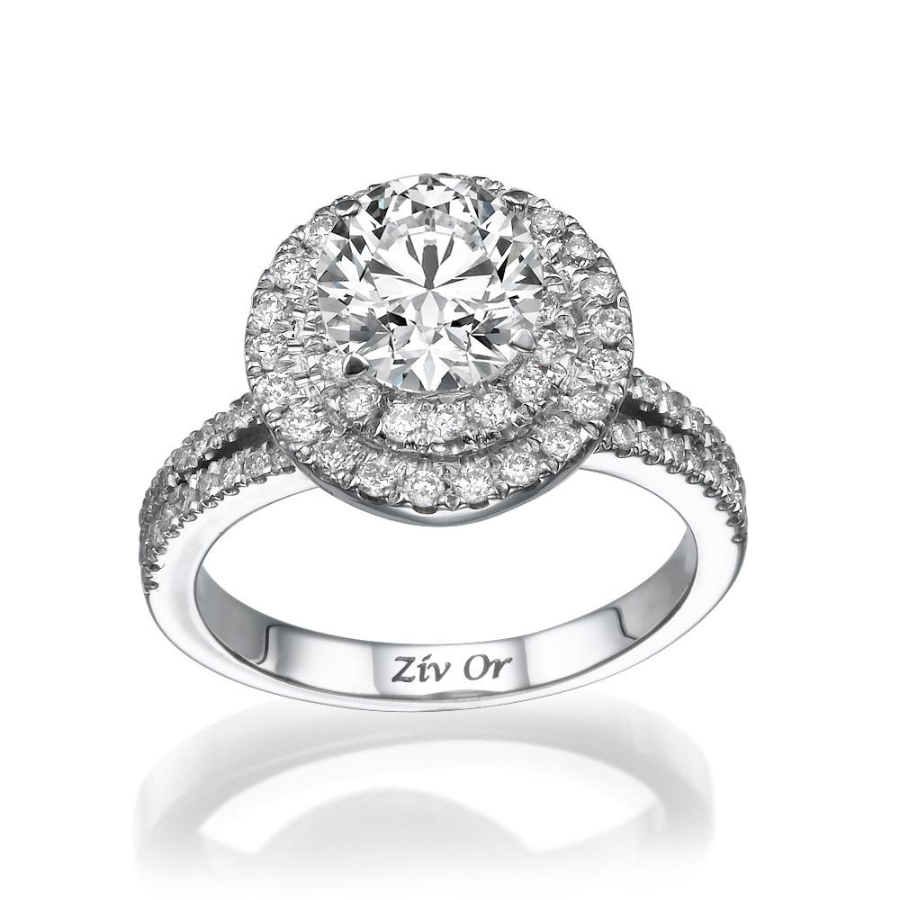טבעת יהלומים מרשימה לכלה