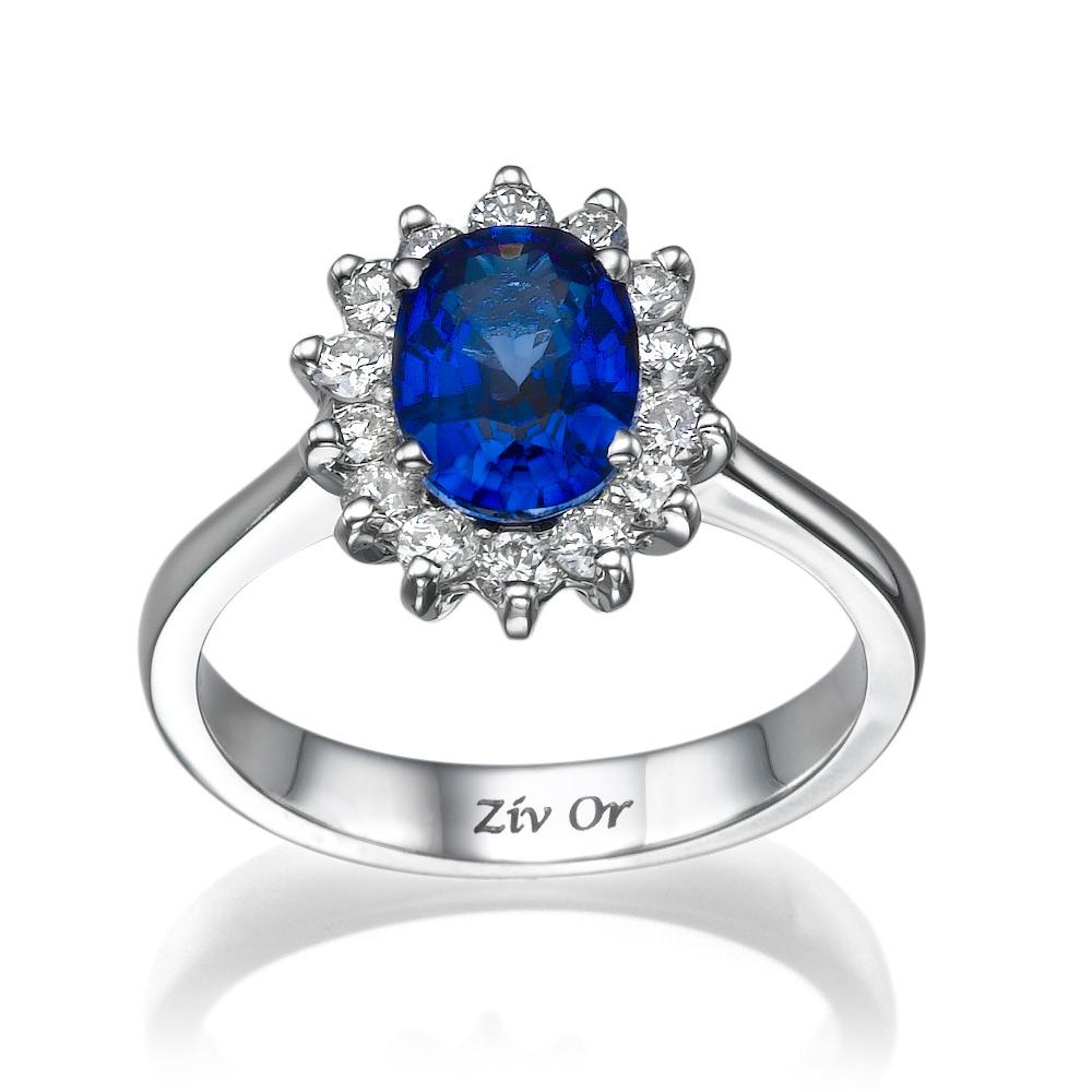 טבעת קלאסית מודרנית לכלה