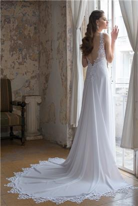 שמלת כלה מבדים מובחרים