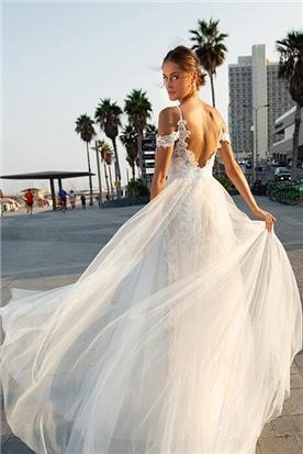 שמלות ערב מבדים טבעיים