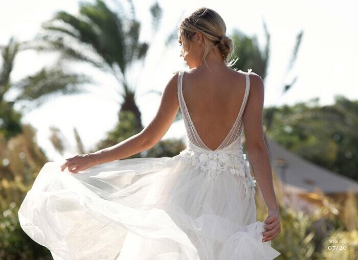 שמלות ערב עם כתפיות עבות