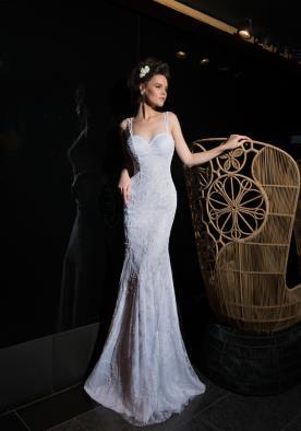 שמלת כלה מתחרה יפה בדגם בת ים