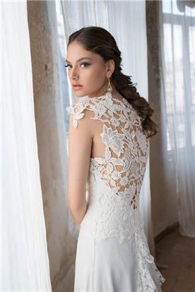 שמלת כלה יפה לכלה רומנטית