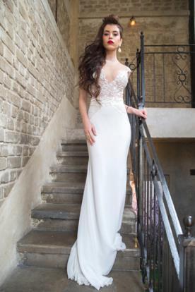 שמלת כלה מיוחדת חגורת תחרה