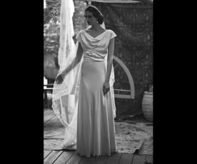 שמלת כלה חולצה קצרה סאטן
