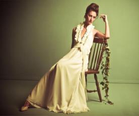שמלת כלה וינטג' מלמלה