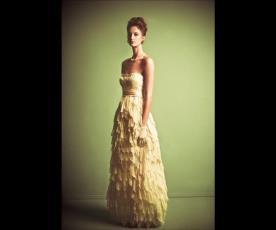 שמלת כלה חצאית קשקשים