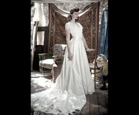 שמלת כלה אלגנטית חצאית רחבה