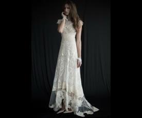 שמלת כלה בז' אלגנטית