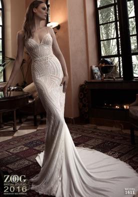 שמלת כלה קרם מנצנצת