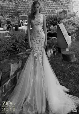 שמלת כלה נועזת עם טול ותחרה
